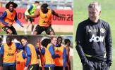 James và Wan-Bissaka lại khiến đồng đội trầm trồ trên sân tập Man Utd