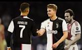 Gạt Ronaldo, De Ligt chỉ người khiến anh từ chối M.U để tới Juve