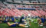Man Utd căng sức tập luyện tại SVĐ đẹp như mơ