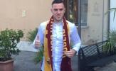 """NÓNG! """"Kẻ thay thế Ramsey"""" đã đến kiểm tra y tế tại AS Roma"""