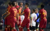 Đánh bại 'kẻ nhược tiểu', AS Roma chạy đà hoàn hảo trước mùa giải mới