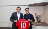 Vừa đến Bayern, Coutinho đã lập tức lên tiếng về tham vọng của mình