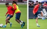 Coutinho 'hút' máy quay trong buổi tập đầu tiên tại Bayern