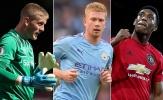 Martial, De Bruyne và 10 điều rút ra sau vòng 2 Premier League