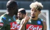 Tâm trạng trái ngược của các cầu thủ Napoli trước 'đại chiến'