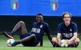 """Mancini cảnh cáo """"bộ đôi tình nhân"""" của đội tuyển Italia"""