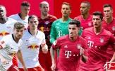 Đội hình dự kiến cuộc đại chiến giữa Leipzig và Bayern