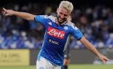 Mertens lập cú đúp, Napoli thắng dễ chờ đại chiến với Liverpool