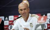 Zidane đón nhận 1 tin vui và 1 tin buồn trước cuộc đối đầu PSG ở C1