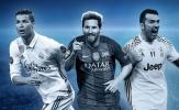 ĐHTB Champions League một thập kỷ qua: Những siêu sao hạng nặng