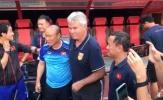 'Phù thủy' Park đá 'bay ghế' HLV trưởng U22 Trung Quốc Guus Hiddink