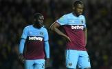 Vừa thắng Man United, West Ham đã thất bại kinh hoàng trước đội Hạng Ba