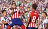 Hoà bạc nhược Valladolid, Atletico tự 'bắn vào chân mình' tại La Liga