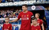 Heskey, Garcia ghi bàn trong trận đấu Gerrard khoác lên mình 2 màu áo