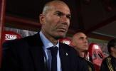 Zidane giận tái mặt vì lối chơi bạc nhược của các học trò