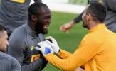 Trước giờ chạm trán Dortmund, Lukaku ân cần với cựu đội trưởng Atletico Madrid