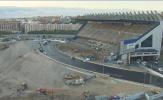 Thánh địa Vicente Calderon của Atletico Madrid giờ hoang tàn, đổ nát