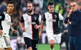 Có Ronaldo, Juventus của Sarri còn tệ hơn của Allegri, Conte