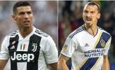 """Chưa trở lại Serie A, Ibrahimovic đã """"kiếm chuyện"""" với Ronaldo"""