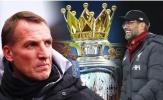 Brendan Rodgers nói thật lòng về cơ hội cạnh tranh chức vô địch với Liverpool