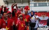 CĐV Việt Nam phủ đỏ các tuyến đường, tiếp sức cùng U22 Việt Nam săn vàng SEA Games