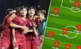 Đội hình ra sân U22 Việt Nam đấu Indonesia: Văn Lâm 2.0, 'Người không phổi'