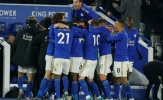 Leicester chiếm 3/5 gương mặt được Whoscored đánh giá cao nhất