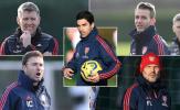 Mikel Arteta cùng đội ngũ phò tá 'khủng' tại Arsenal