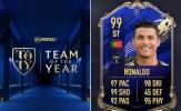 Ronaldo nhận số điểm ngang Van Dijk và Messi trong ĐHTB của FIFA 20