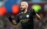 Aguero lập hat-trick, Man City hủy diệt Aston Villa bằng một set tennis