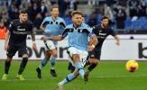 Lazio đại thắng, Immobile thách thức Lukaku, Ronaldo