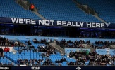 Guardiola nổi điên vì sự 'thờ ơ' của CĐV Man City