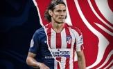 Nâng giá hỏi mua Cavani, Atletico Madrid nhận hồi đáp cực choáng từ PSG