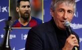 HLV Barca: 'Tôi không phải là cha các cầu thủ để làm điều đó'