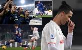 Ronaldo tỏ thái độ lạ, biết trước thất bại của Juventus?