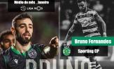 CHÍNH THỨC: Trang chủ Liga Portugal vinh danh Bruno Fernandes