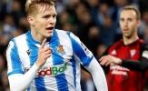 'Messi Na Uy' tỏa sáng, Real Sociedad tạm nắm lợi thế tại Bán kết Cúp nhà Vua