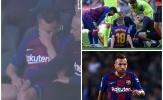 'Viên đạn bạc' của Barca bật khóc vì chấn thương