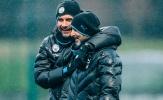 Pep và dàn sao Man City vui như trẩy hội sau án phạt của UEFA