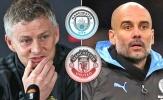Man City bị cấm dự C1, Man Utd phản ứng không ngờ!
