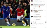 Hóa đá tảng trước Chelsea, Bailly phản ứng đầy cảm xúc
