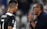 """""""Các cầu thủ Juventus không muốn tham gia vào ý tưởng của Sarri"""""""