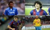 4 cầu thủ từng khoác áo Napoli và Barca: 3 nhà vô địch World Cup xuất hiện