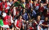 Đến bao giờ, Arsenal mới thay thế được 'Bức tường vô hình'?