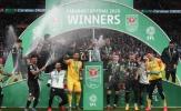 'El Kun' nổ súng, Man City vượt qua Villa đăng quang Cúp Liên đoàn Anh