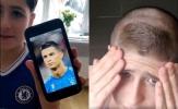 Ông bố gây bão mạng xã hội khi cắt tóc cho con giống 'Ronaldo'