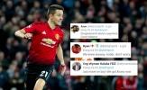 CĐV Man Utd: 'Cậu cứ đi đi, giờ chúng tôi đã có Bruno Fernandes'