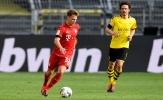 Ngoài pha 'xúc thìa', Kimmich 'cày nát' khu trung tuyến trước Dortmund