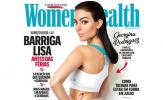 Bạn gái Ronaldo lên bìa tạp chí, chia sẻ bí quyết giữ dáng