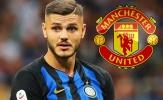 Vì một người, Man United quyết không chiêu mộ Mauro Icardi